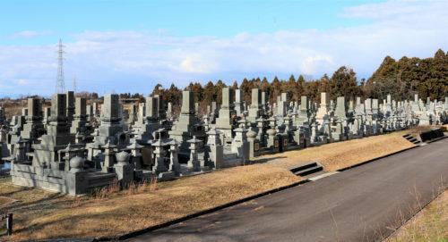 滑川市墓地公園 写真